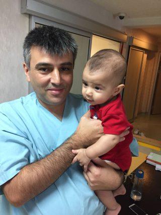 bebek sünnet ameliyatı