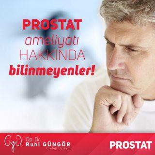 Prostat ameliyatı hakkında bilinmeyenler